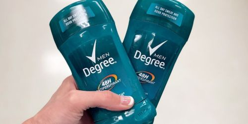 Degree Men's Deodorant 6-Pack Only $10.37 Shipped on Amazon | Just $1.73 Each