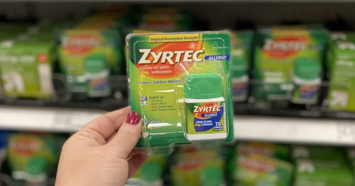 This is an image of Nifty Zyrtec Printable Coupon $10