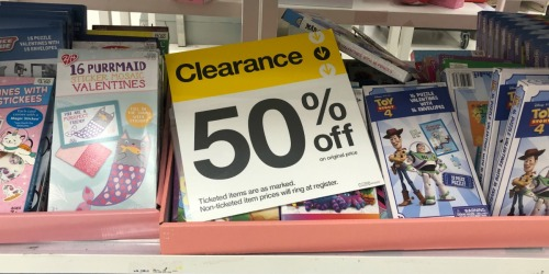 Up to 50% Off Valentine's Day Clearance at Target