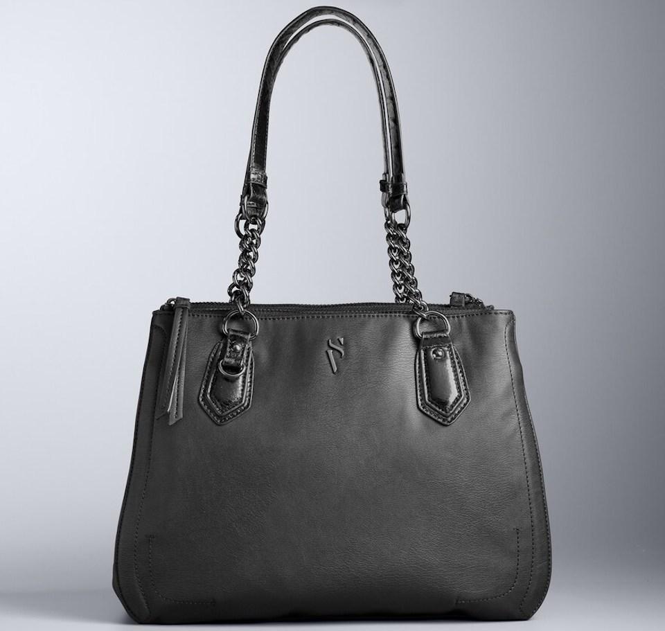 Vera Wang satchel in black
