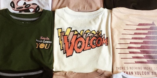 Over 70% Off Volcom Apparel for the Family + FREE Shipping | Prices Starting at $5.50 Shipped