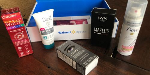 Walmart Spring Beauty Box Just $5 Shipped | Personalized Products & Coupons
