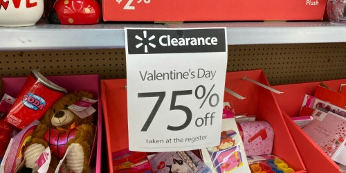 75% Off Valentine's Day Clearance at Walmart