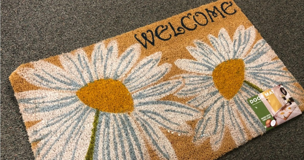 Welcome Mat from Kohl's