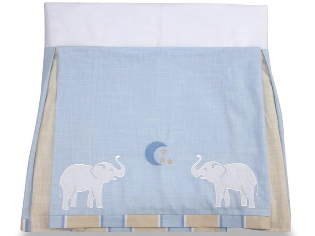 elephant themed crib blankets