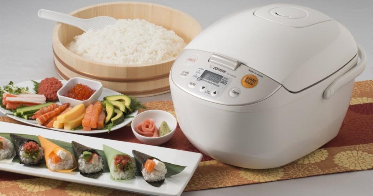 rice cooker and meal