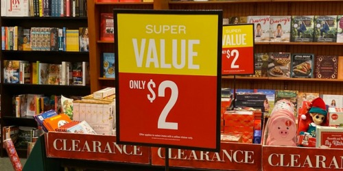Barnes & Noble $2 Clearance Event | Toys, Books & Games