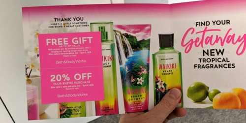 New Bath & Body Works Coupon Booklet w/ FREE Item Offer | Check Your Mailbox