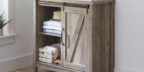 Better Homes & Gardens Farmhouse Storage Cabinet Only $120 Shipped (Regularly $166)
