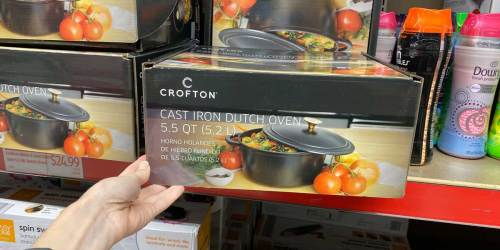 Cast Iron Cookware as Low as $16.99 at ALDI