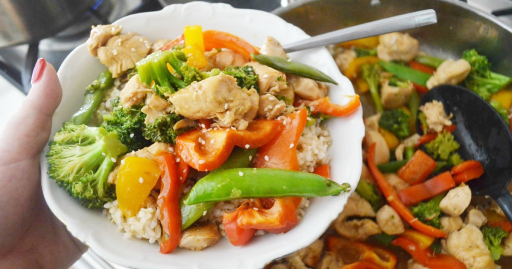 Easy Weeknight Chicken Stir Fry Quick Skillet Meal Hip2save Recipe