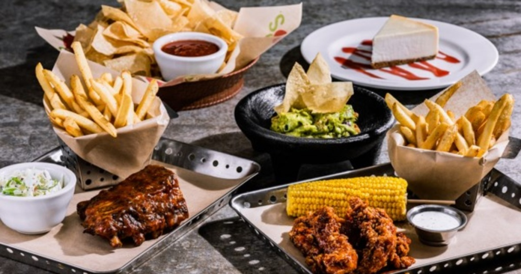 Valentine's Day meal at Chili's