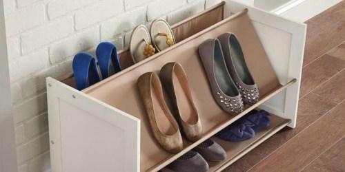 50% Off ClosetMaid Shoe Organizer at Home Depot
