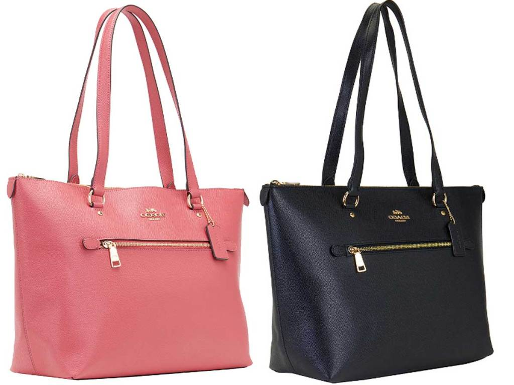stock images of coach totes