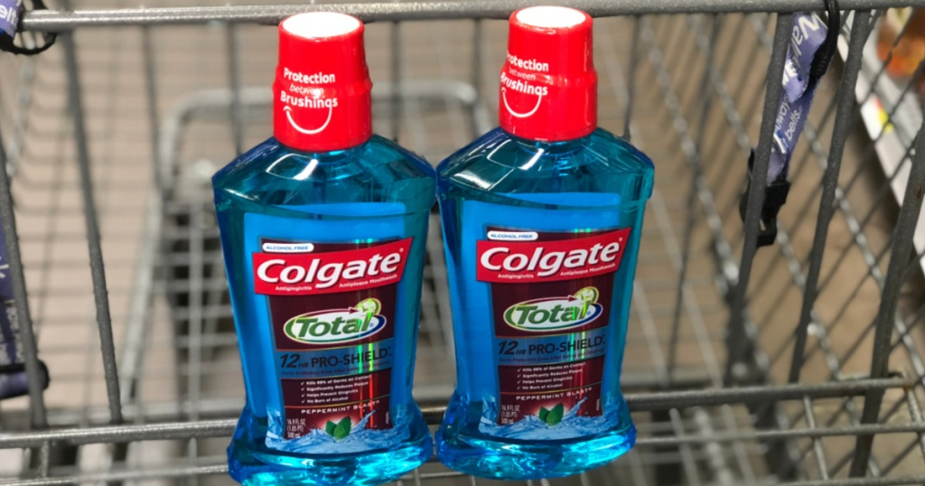 2 colgate mouth wash in cart