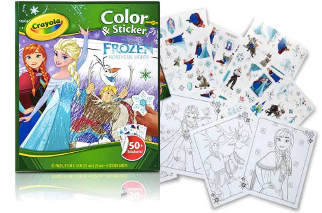 Crayola Disney Frozen Coloring & Sticker Book