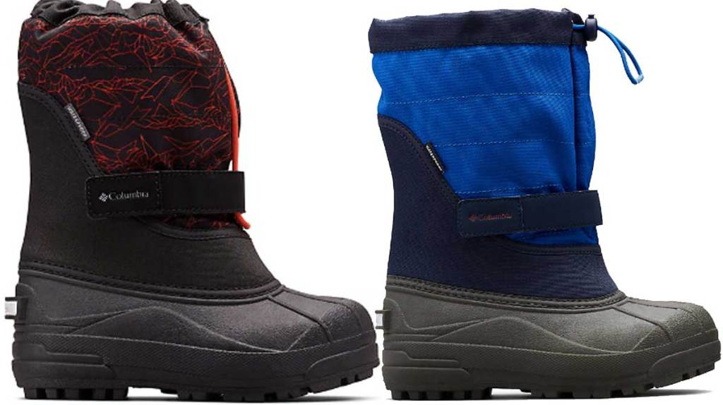 columbia toddler and big kids snow boots