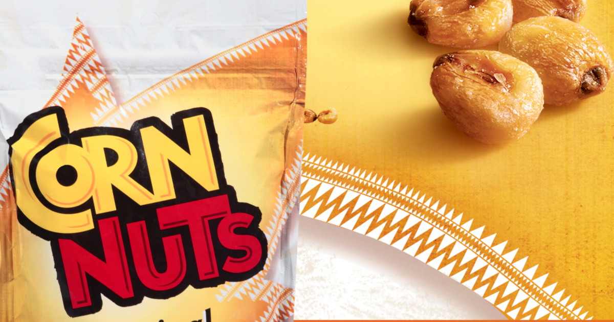 corn nuts with kernels