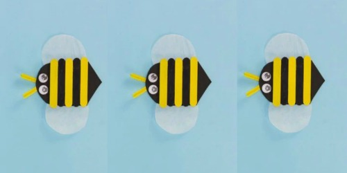 Michaels Free Kids Event: Make Craft Stick Bees on March 8th