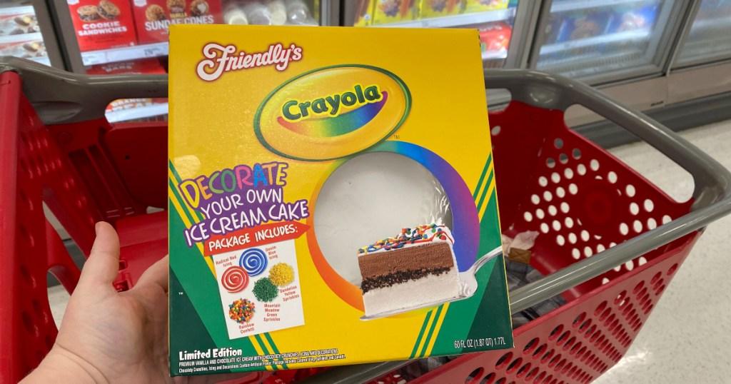 Crayola Ice Cream Cake at Target