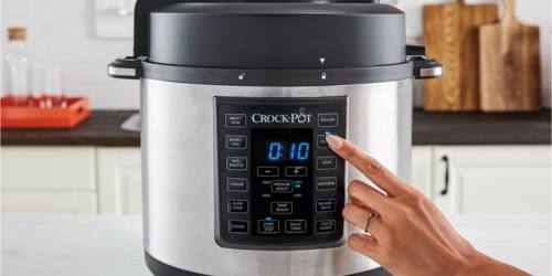 Crock-Pot Express 6-Quart Pressure Cooker Only $49.99 Shipped (Regularly $100)