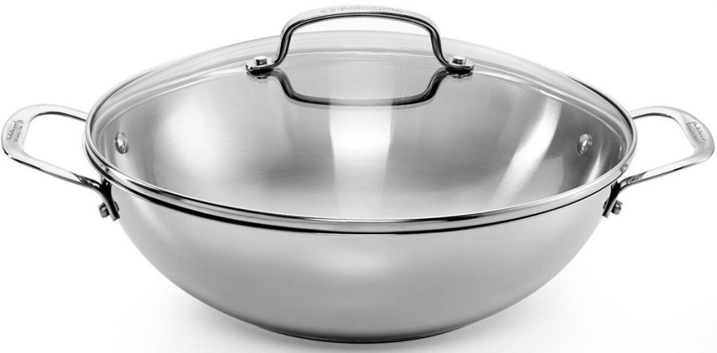 stainless steel 12 inch pan with lid