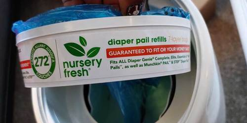 Diaper Pail Refills 8-Pack Just $18.82 Shipped or Less on Amazon | Holds Over 2,000 Diapers