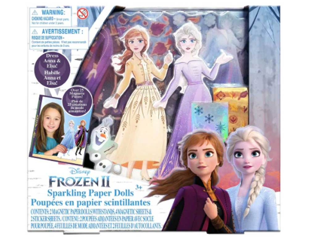 Disney Frozen 2 Sparkling Paper Doll Kit