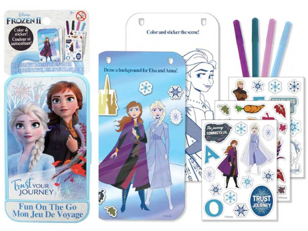Disney Frozen 2 Fun on the Go Activity Kit