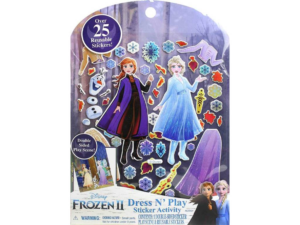 Disney Frozen 2 Dress N' Play Sticker Activity Kit