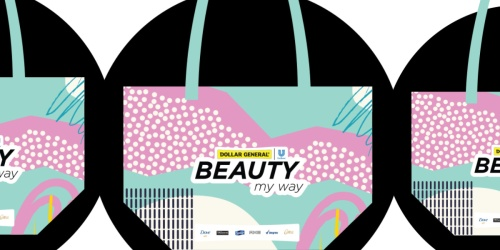 FREE Dollar General Beauty Tote Bag & Exclusive Coupons   First 200,000 Only