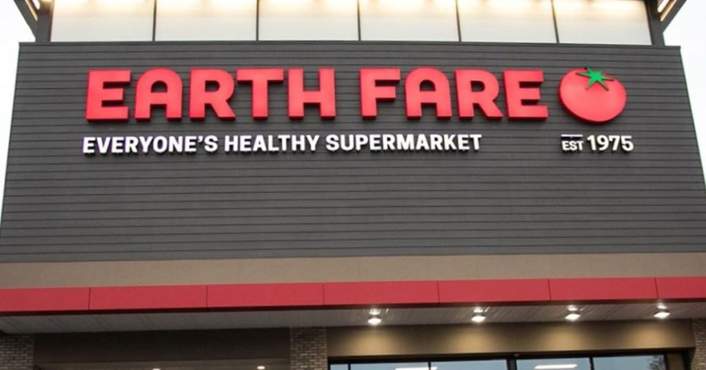 exterior of Earth Fare store