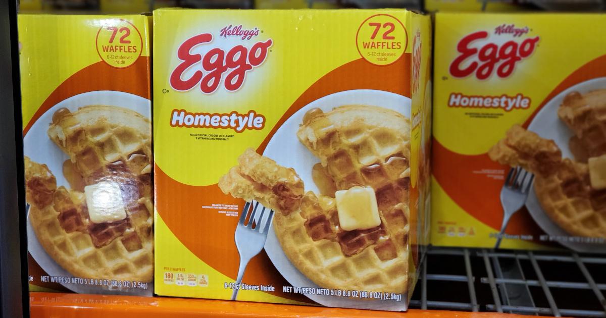 Eggo waffles at sam's club