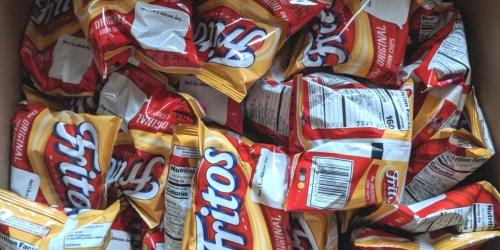 Frito-Lay Chips 40-Count Packs Just $10.62 Shipped on Amazon | Doritos, Fritos & More