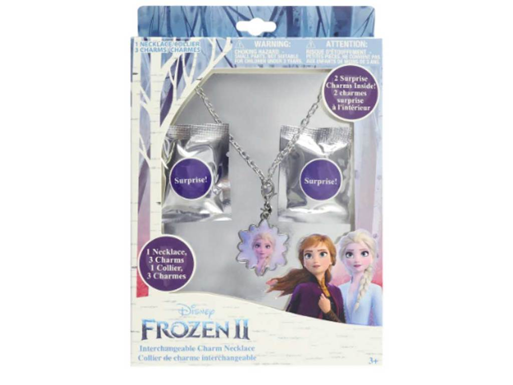 Disney Frozen 2 Add a Charm Necklace Set