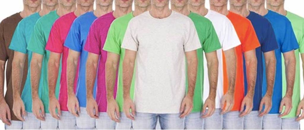 fruit of the loom men's tshirts 10 pack