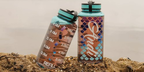 ADORABLE Personalized Water Tracker Bottles Only $17.50 Shipped (Regularly $25)
