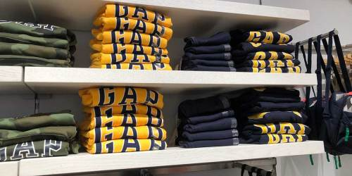 Up to 80% Off Gap Men's Apparel | T-Shirts as Low as $4.50