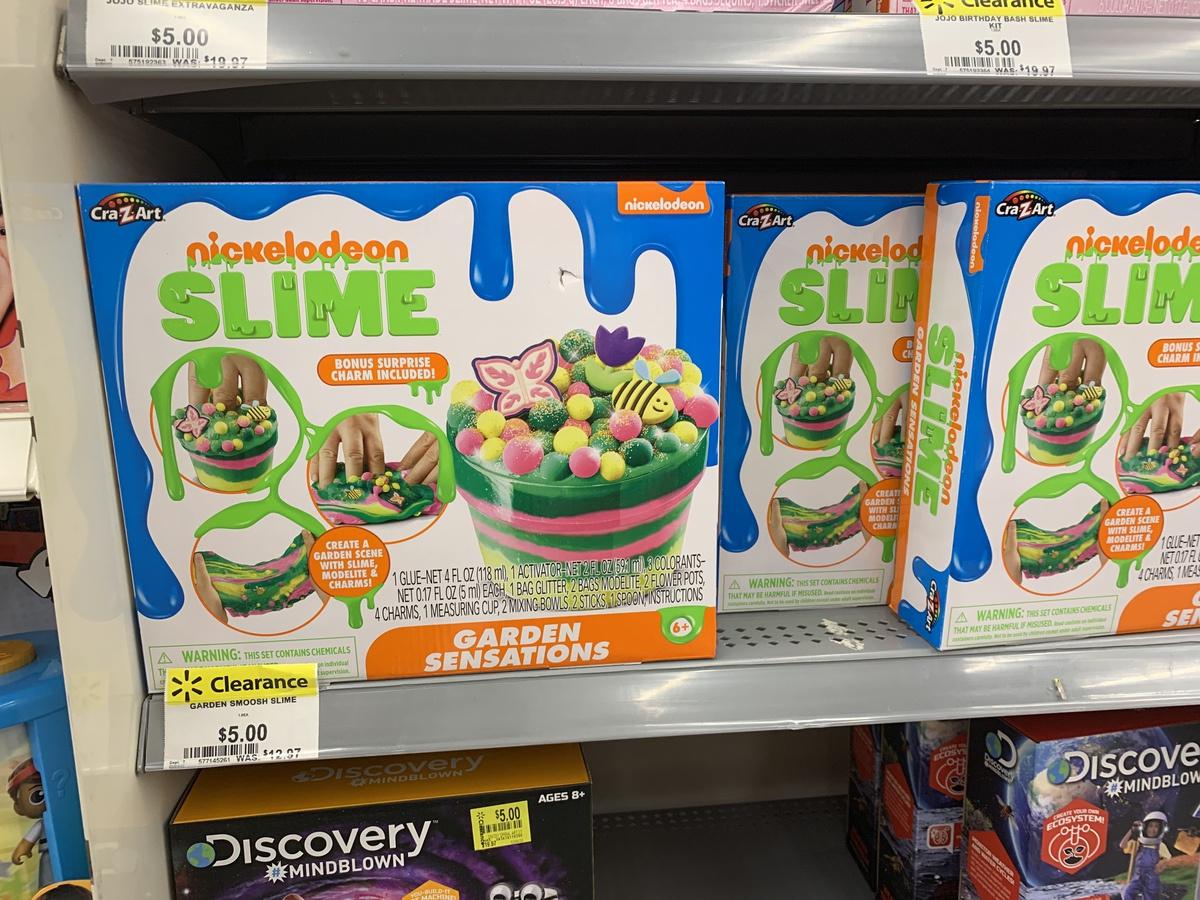 nickelodeon slime on store shelf