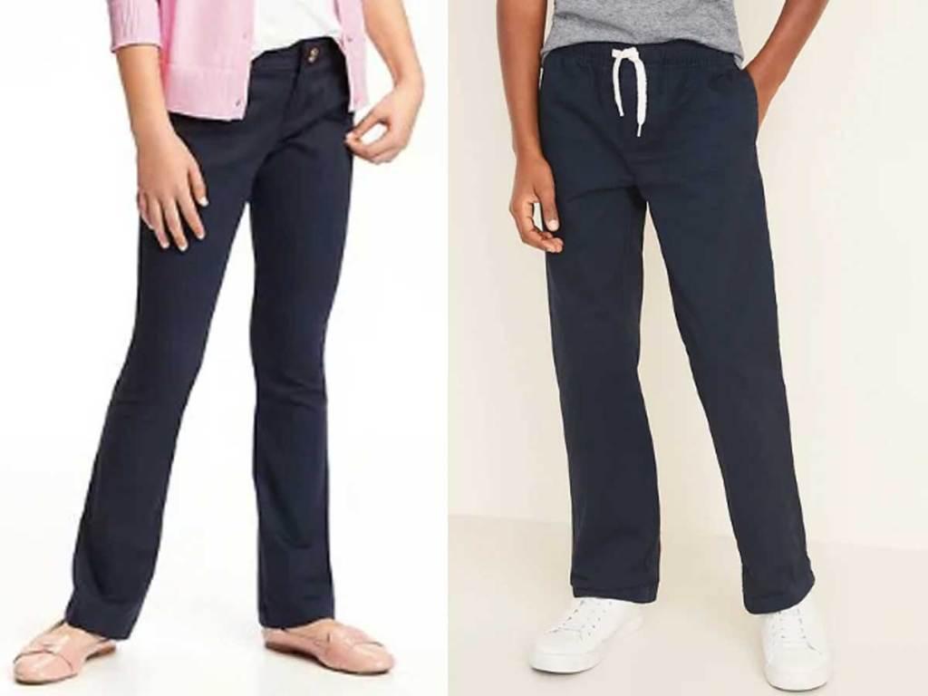 boys and girls pants