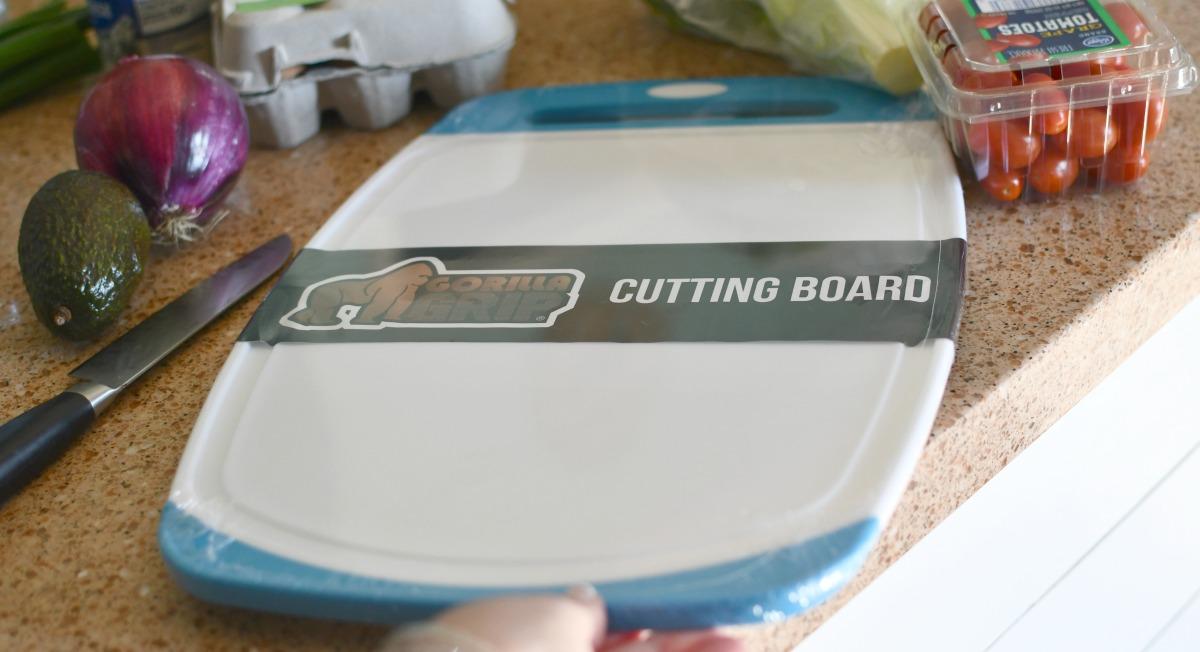 new gorilla grip cutting board
