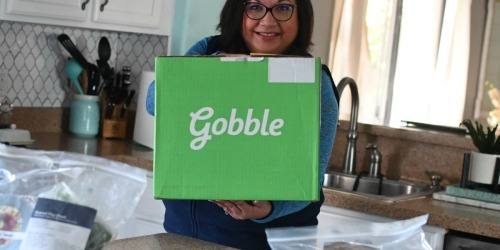Dinner is Ready in Just 15 Minutes With Gobble Meals!
