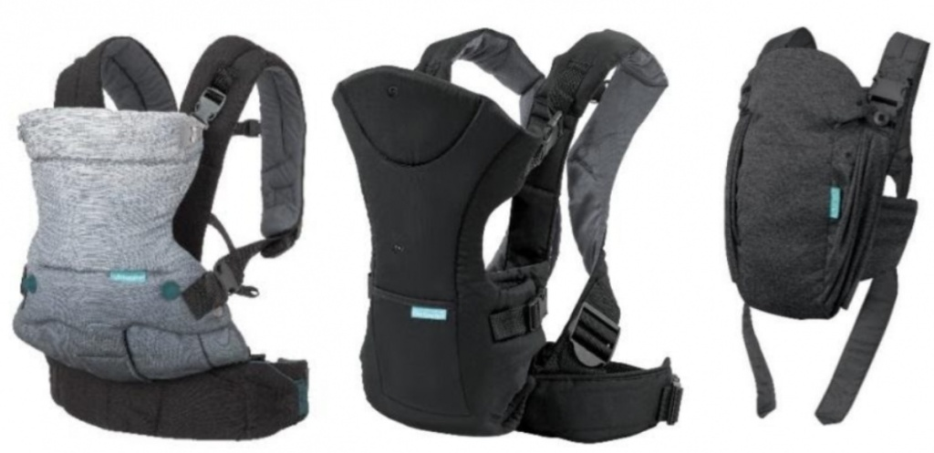 3 Infantino baby carriers