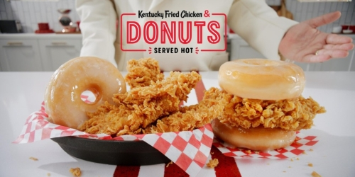 KFC Is Adding Kentucky Fried Chicken & Donuts to its Menus Nationwide
