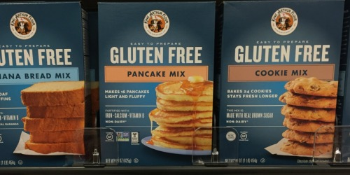King Arthur Flour Gluten-Free Pancake Mix 6-Count Just $11 Shipped or Less on Amazon
