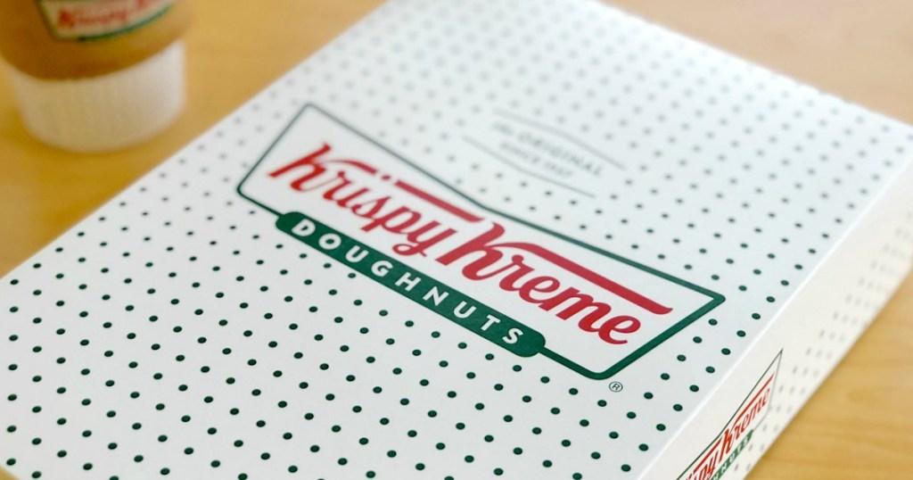 package of donuts from Krispy Kreme