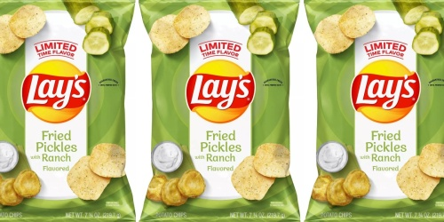 Lay's Fried Pickles with Ranch Potato Chips are BACK at Select Targets