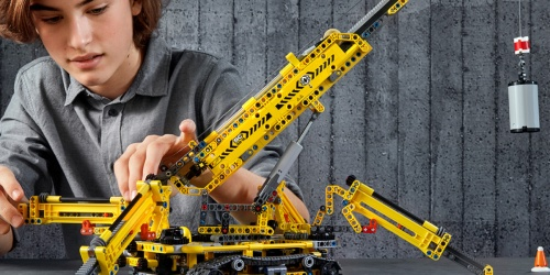LEGO Technic Compact Crawler Crane Only $99.99 Shipped (Regularly $119) | 920 Pieces