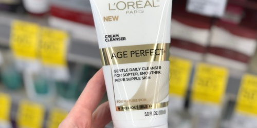 L'Oreal Paris Age Perfect Cleanser Only $3.25 Shipped or Less on Amazon