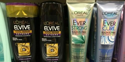 New L'Oreal & Garnier Coupons = 33¢ Hair Care Products After Rewards at CVS